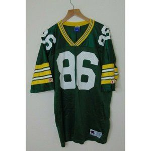 Vtg 90s Champion 44 Green Bay Packers Jersey NFL